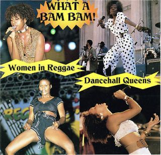 Dancehall QueensWhat a Bam Bam BRAND NEW FACTORY SEALED CD(Oct 1996
