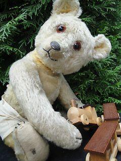 ANTIQUE JOPI TEDDY BEAR 20 S LONG NOSE MOHAIR TOP ANTIKER TEDDY BÄR