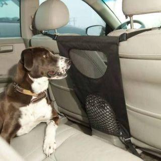 Bergman universal front seat Pet travel barrier Dog sedan car SUV Van