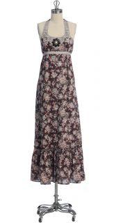 ANTHROPOLOGIE MAXI DRESS, WITH SEACRAFT BY HAZEL