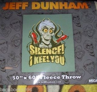 Jeff Dunham 50 X 60 Fleece Throw / Blanket: Achmed