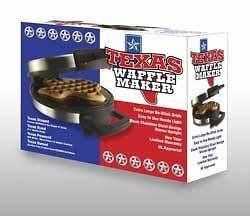 The Texas Waffle Maker / Waffle Iron * New