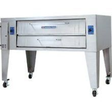 Pizza Deck Oven Gas Bakers Pride Y 600BL 8 Deck Brick