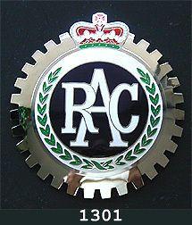 CAR GRILLE EMBLEM BADGES   ROYAL AUTO CLUB