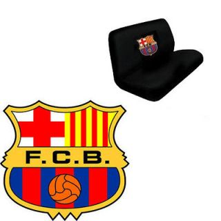 2pc FC Barcelona Football Club Soccer Team Front Rear Bench Row Truck