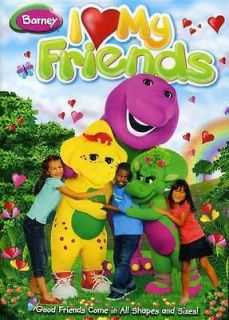 BARNEY I LOVE MY FRIENDS [DVD NEW]