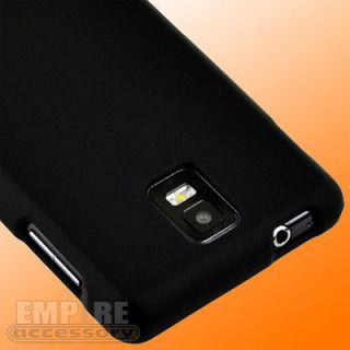 New 2pc Premium Black Hard Case Cover for SAMSUNG INFUSE 4G i997 Att