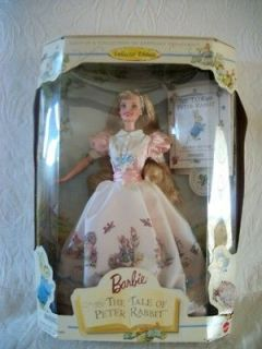 BARBIE DOLL COLLECTOR TALE OF PETER RABBIT TOYS EASTER BIRTHDAY GIFT
