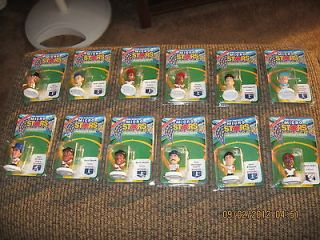 OF 12 MICRO STARS COLLECTOR SERIES BELE+SANDERS+PIAZZA+BONDS+MATTINGLY