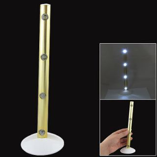 Battery Powered Push Button White LED Light Table Lamp