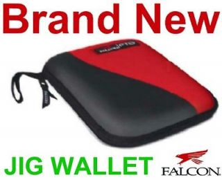 Falcon Bass Fishing Jig Wallet,Tackle/ Lure Case,New