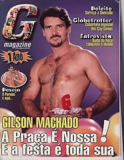 Magazine Brazil like PLAYGIRL Oct 98 *Rare Issue* GILSON MACHADO