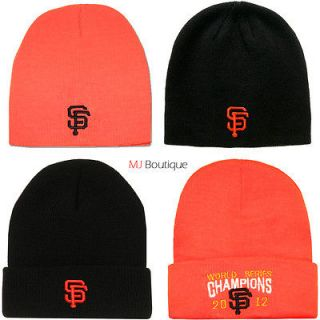 NW MLB San Francisco Giants Long Beanie Cuff Knit warm Winter Hat
