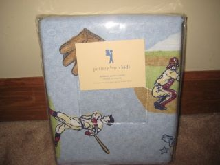 pottery barn kids baseball bedding