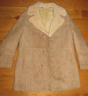 London Fog Lambskin Sheepskin Shearling Fur Collar Marlboro Man Jacket
