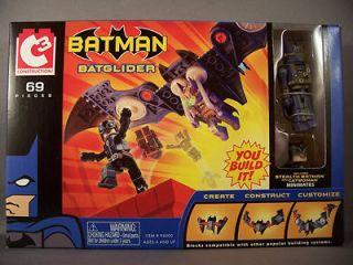 C3 Batglider w/ Batman and Catwoman Minimates Figures