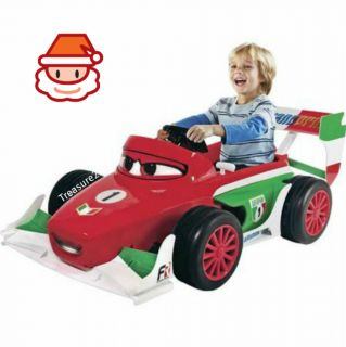 Disney Cars 6 Volt Racer Battery Powered Ride On
