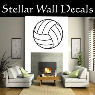 VolleyBall Sport Wall Car Vinyl Decal Sticker ST003