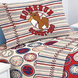 nEw SCOOBY DOO Bedding BED SHEET SET Baseball Scoobydoo