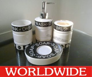 bathroom accessories in Soap Dishes & Dispensers