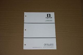 Hydraulic Motor Service Manual 9 99644 Case Ingersoll Lawn Mower