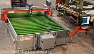 New 5 x 10 Victory II CNC Plasma Table w/Cutmaster A120