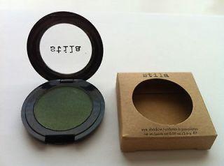 NEW Stila Makeup JADE Green Shimmery Eye Shadow + FREE Pop Beauty