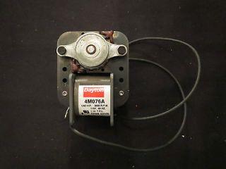 Dayton Fan Blower Motor 4M076A 1/40HP C Frame 1/40 HP
