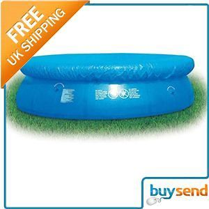 Bestway 8Ft Round Swimming Pool Cover Fast Set Intex