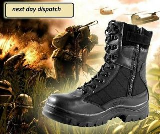 NEW MILITARY BLACK BOOTS AT AN EXCELLENT PRICECOMBAT ARMY TACTICAL