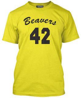 Teen Wolf 42 Beavers T Shirt Howard Back Design 80s