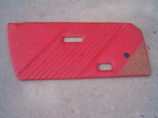 Fiat X 1/9 Bertone Alfa Romeo Spider Convertible Int Door Panel Driver