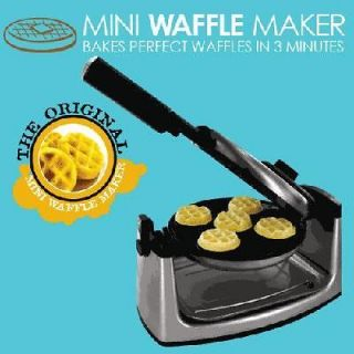 Smart Planet   MWM 1 Mini Flip Belgium Waffle Maker