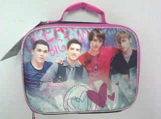 Brand New Big Time Rush Lunchbox case bag present gift school