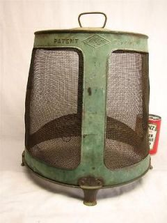 ANTIQUE FLY TRAP BARNYARD PRIMITIVE GREEN PAINT NESCO