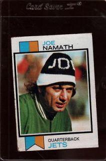 1973 TOPPS #400 JOE NAMATH *587498