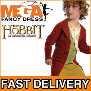Bilbo Baggins The Hobbit Boys Movie Book Week Fancy Dress Costume Kids