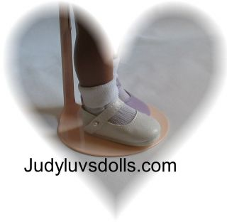 White Shoes Socks to fit 14 inch Betsy McCall