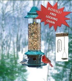 squirrel proof bird feeder in Seed Feeders