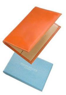 leather golf scorecard holder