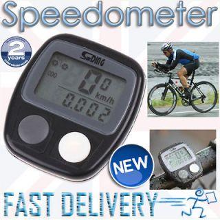 Digital LCD Speedometer Bike Cycle BICYCLE Speedo Odometer mph / kph