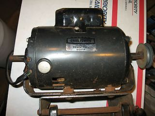 Craftsman Belt Drive Table saw motor 1 HP Dual shaft # 113.12170 runs