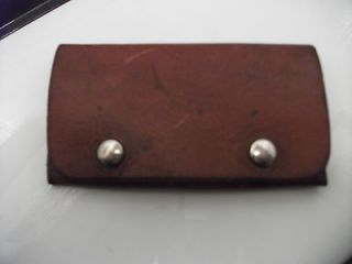 vintage george lawrence co.leather bullet wallet cartridge holder 25 A