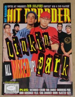 linkin park signed in Entertainment Memorabilia