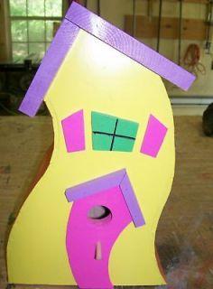 Bird House #2 Whimsical Yard Decoration