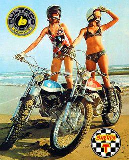 Sherpa T Motorcycle T Shirt. Gents, Ladies & Kids Sizes Trail bike Tee