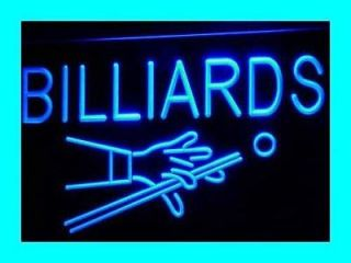 i309 b Billiards Pool Room Table Bar Pub NEW Light Sign