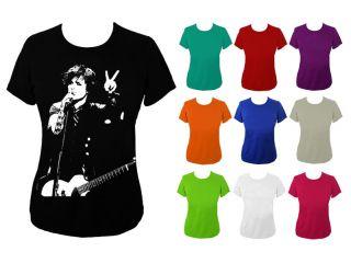 Womens Billie Joe Armstrong Green Day T shirt UK 6 18