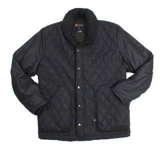 Kakadu Hoover coat mens black oilskin conceal carry cc