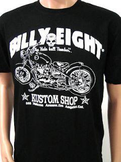 BILLY EIGHT RIDER CLUB VINTAGE MOTORCYCLE WEST COAST CHOPPER CUSTOM